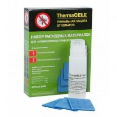 Набор расходных материалов для противомоскитных приборов ThermaCell (1 газовый картридж + 3 пластины)